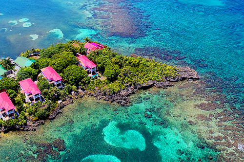 Roatan is located in the world's 2nd longest barrier reef!